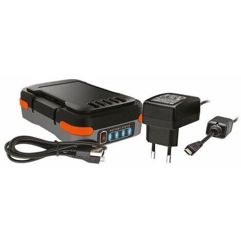 Batería + cable cargador usb 12V Black+Decker BDCB12B