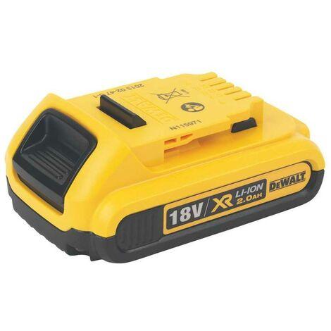 Bateria carril XR 18V Li-Ion 2.0 Ah - DEWALT - Ref: DCB183-XJ