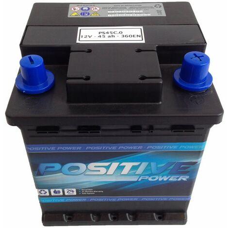 Batería Coche 45Ah Sin Carnet | Positive Power
