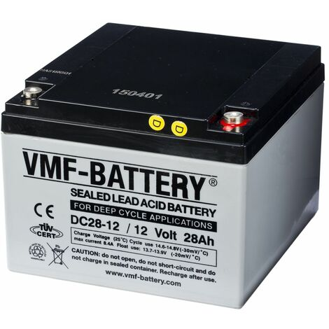 Batería de ciclo profundo AGM VMF DC28-12, 12 V, 28 Ah