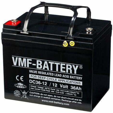 Batería de ciclo profundo AGM VMF DC36-12, 12 V, 36 Ah