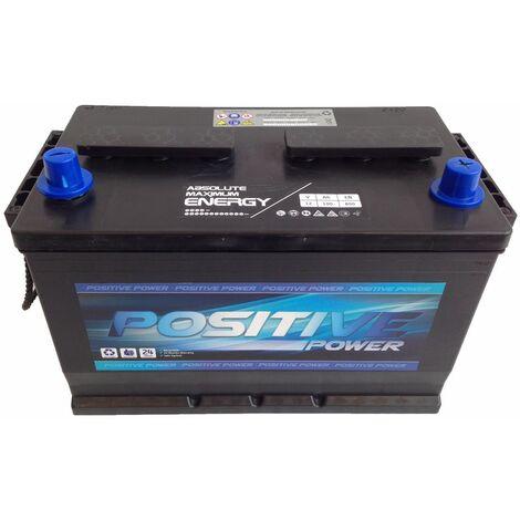 Batería De Coche 100Ah Todo Terreno Positivo Derecha | POSITIVE 4X4