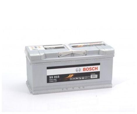 Batería de Coche Bosch 110Ah 920A EN S5015 borne + dcha