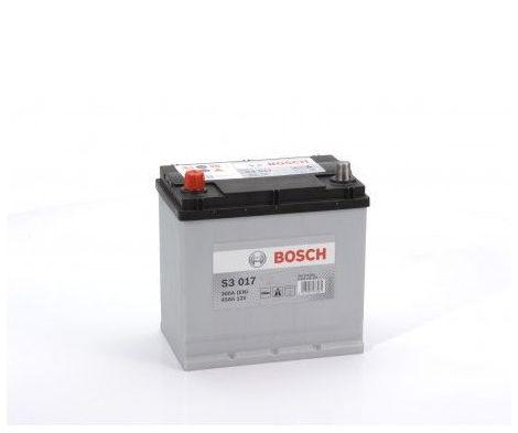 Batería de Coche Bosch 45Ah 300A EN S3017 borne + izq