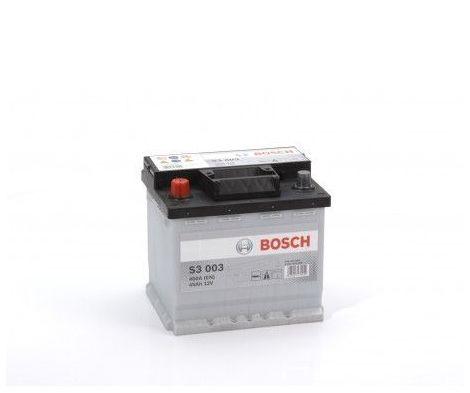Batería de Coche Bosch 45Ah 400A EN S3003 borne + izq