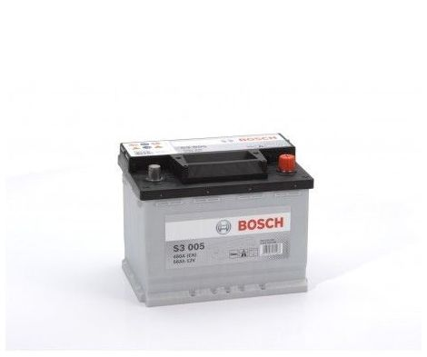 Batería de Coche Bosch 56Ah 480A EN S3005 borne + dcha