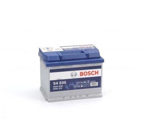 Batería de Coche Bosch 60Ah 560A EN S4E05 borne + dcha