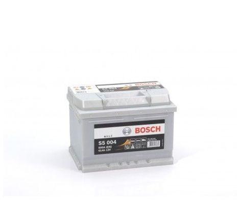 Batería de Coche Bosch 61Ah 600A EN S5004 borne + dcha