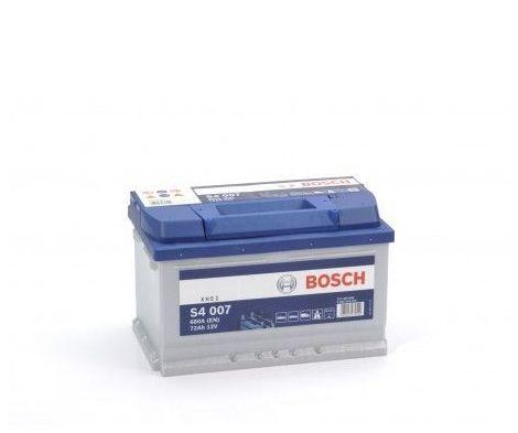 Batería de Coche Bosch 72Ah 680A EN S4007 borne + dcha