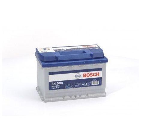 Batería de Coche Bosch 74Ah 680A EN S4008 borne + dcha