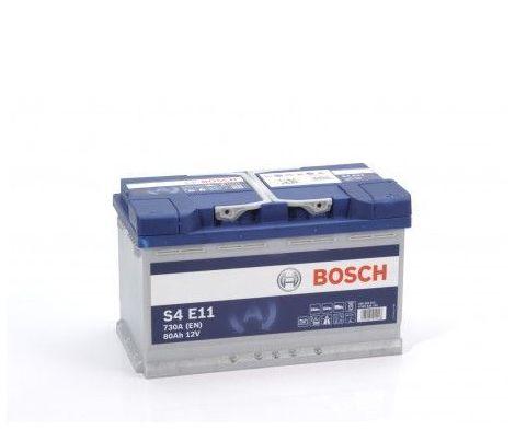 Batería de Coche Bosch 80Ah 730A EN S4E11 borne + dcha