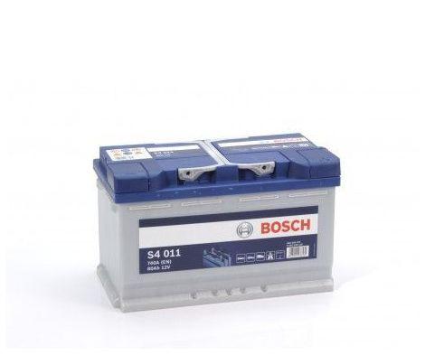 Batería de Coche Bosch 80Ah 740A EN S4011 borne + dcha