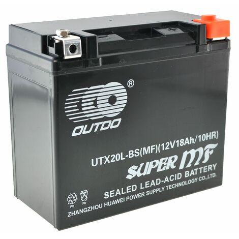 Bateria de GEL KAGE AGM YTX20L-BS 20AH (GT20-3)
