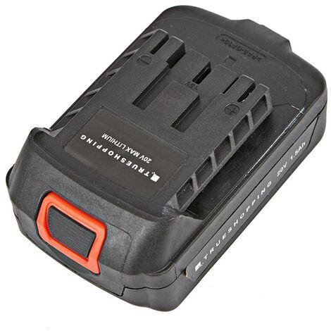 Batería de Iones de Litio de 20V 1.5Ah para Herramientas de Jardín Trueshopping