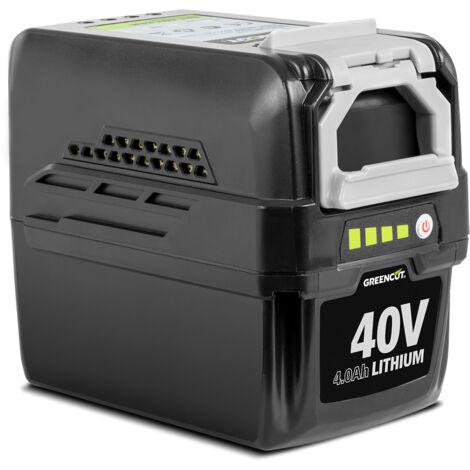 Batería de litio BT404L con capacidad de 4.0Ah y voltaje de 40V Gama 40V TECH - Greencut