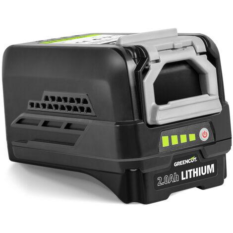 Batería de litio de 2.0Ah para herramientas jardinería sistema GREENCUT 40V