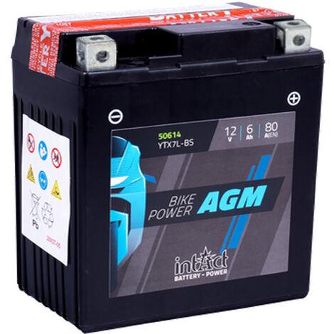 Batería de moto YTX7L-BS | AGM Hermética YTX7L-4