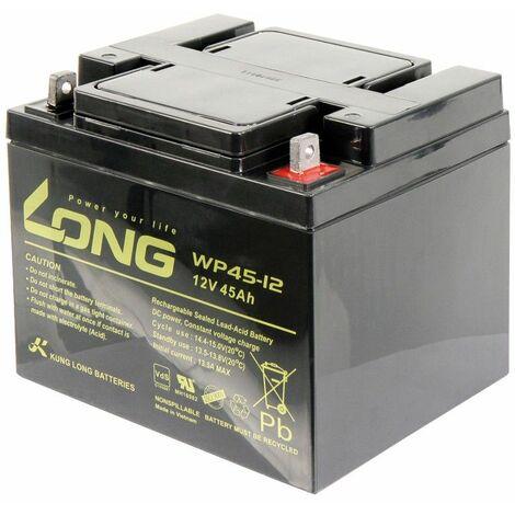 Batería de plomo KUNG LONG WP45-12 12V / 45Ah VdS ??198x166x171mm 141kg