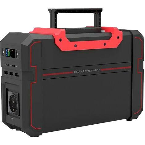 Batería Generador Portátil con Inversor de Corriente Salida Schuko y USB