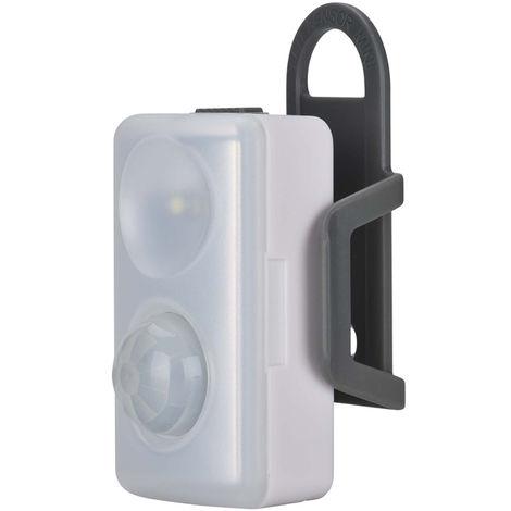 Batería inalámbrica Pir Led Sensor de movimiento Gabinete Luz nocturna Lámpara blanca 3 Modo Reino Unido Hasaki