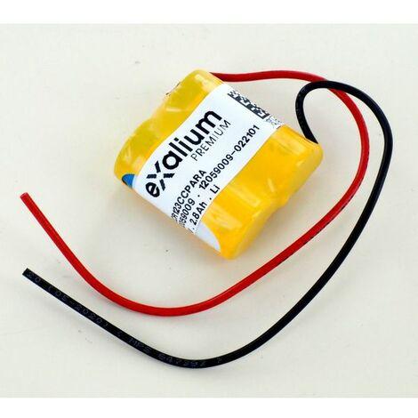Batería litio 3V para porton automatico