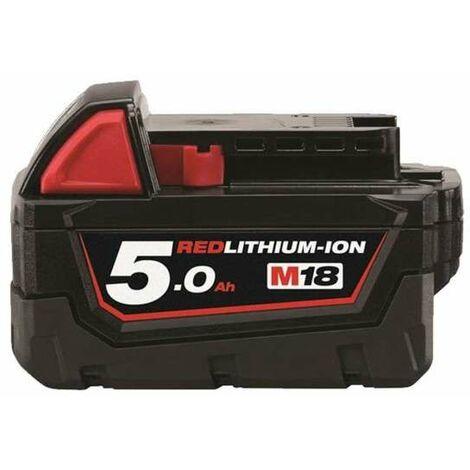 Batería Milwaukee M18B5 18V 5,0 Ah