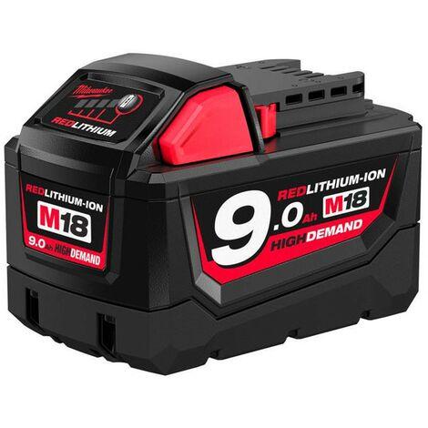 Batería Milwaukee M18B9 18V 9,0 Ah