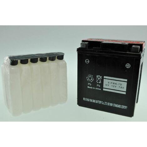 Bateria Moto de GEL YTX7L-BS GEL (6-FMA-7D)