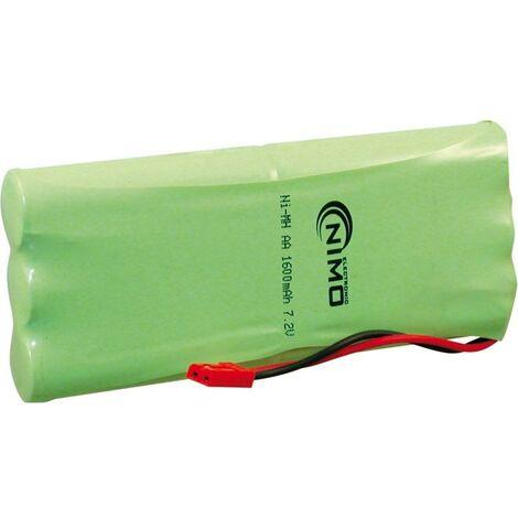 Bateria Ni-Mh Radio Control 7,2Vdc 2500mA AAx6
