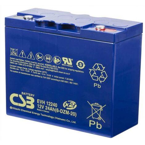 Batería para arrancador 12v 24Ah