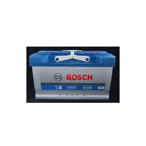Batería para coche Bosch S4 010 // 12V 80Ah 740A en borne + derecha