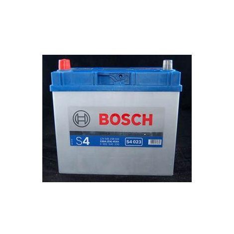 Batería para coche Bosch S4 023 // 12V 45Ah 330A EN borne + izq.