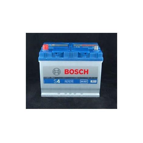 Batería para coche Bosch S4 027 // 12V 70Ah 630A EN borne + izq