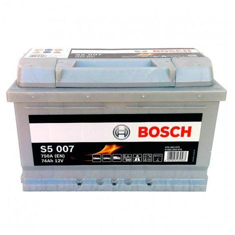 Batería para coche BOSCH S5 007 // 12V 74Ah