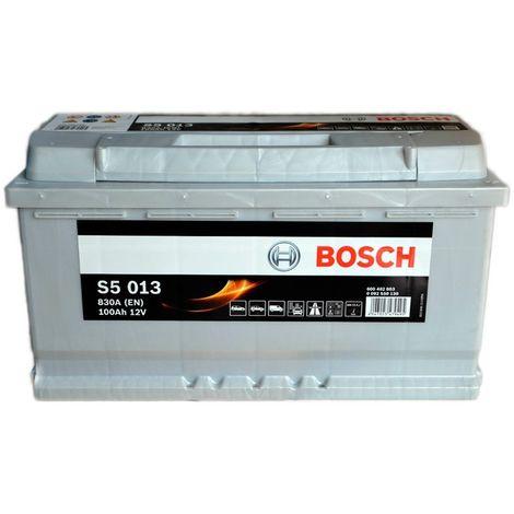 Batería para coche BOSCH S5 013 // 12V 100Ah