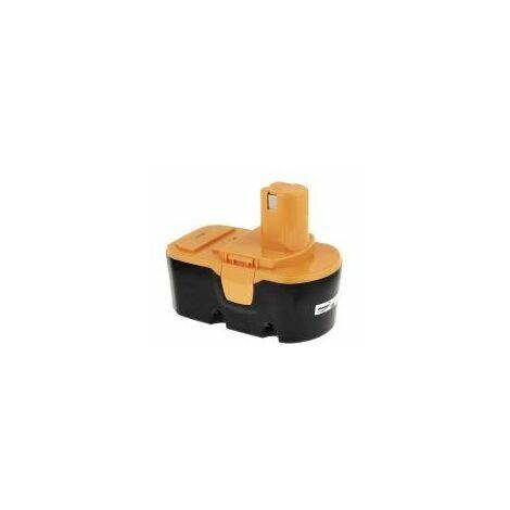 Batería para herramienta Ryobi Modelo BPP-1813/ BPP-1817/ BPP-1820 2000mAh NiMH
