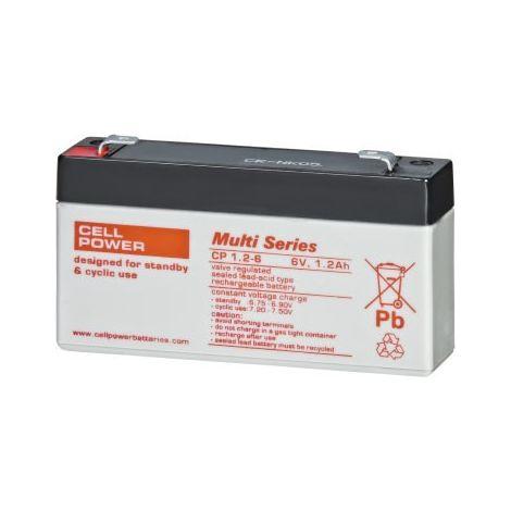 Batería para juguete CP 6V 1,2Ah