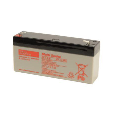 Batería para juguete CP 6V 3.2Ah