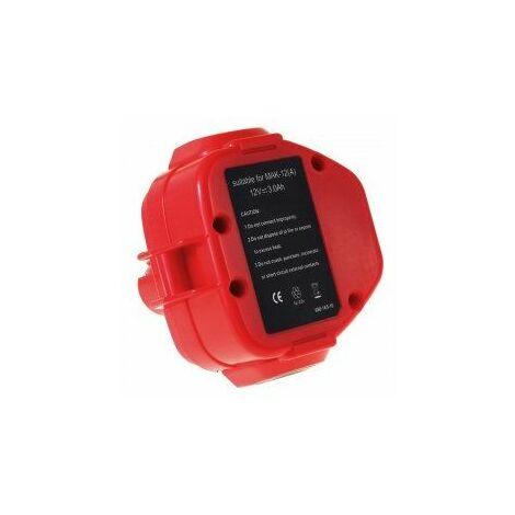 Batería para Makita Atornillador de impacto 6992DWD 3000mAh