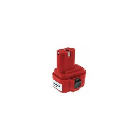 Batería para Makita Taladro angular DA392DWD NiMH 2000mAh