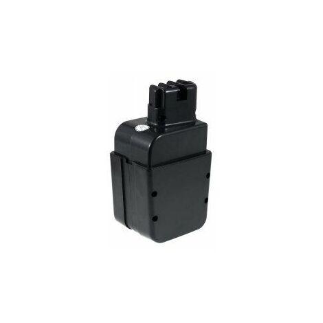 Batería para metabo Taladro percutor Sb EA112/ 2R+L (Contacto-clavija)