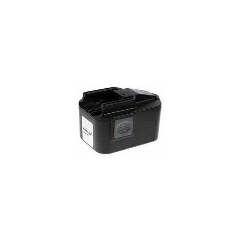 Batería para Milwaukee Destornillador eléctrico PCS 14.4V Power Plus NiMH