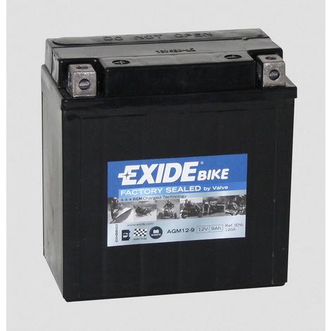 Batería para moto Exide Factory Sealed AGM12-9