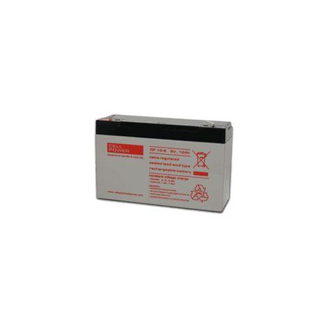 Batería para SAI, juguetes o alarmas CP 6V 12Ah