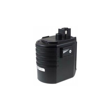 Batería para Würth master Martillo perforadorABH 20-SLS 3000mAh NiMH Plana (versión moderna)