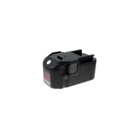 Batería para Würth master Taladro portátil BS 18-A solid combi 2000mAh NiMH