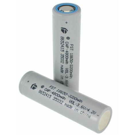 "main image of ""BATERIA PILA RECARGABLE 18650 3200mAh REALES 3,7V Battery Litio Li-ion"""