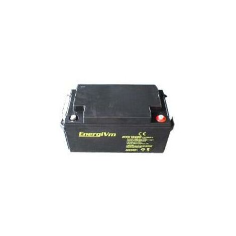 Bateria Plomo 12v 75a Ups/sai 258x166x206mm Energivm Mvh12750