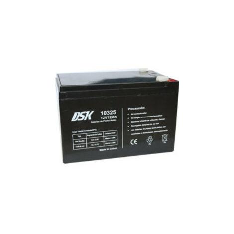 Bateria PLOMO AGM 12V/12A 151x98x94mm 3,45Kg DSK