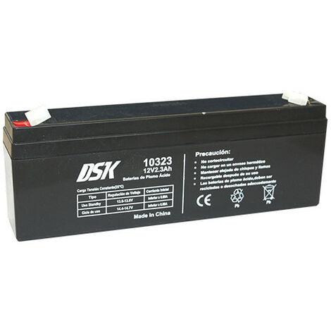 Bateria PLOMO AGM 12V/2,3A 179x35x61mm 0,92Kg DSK